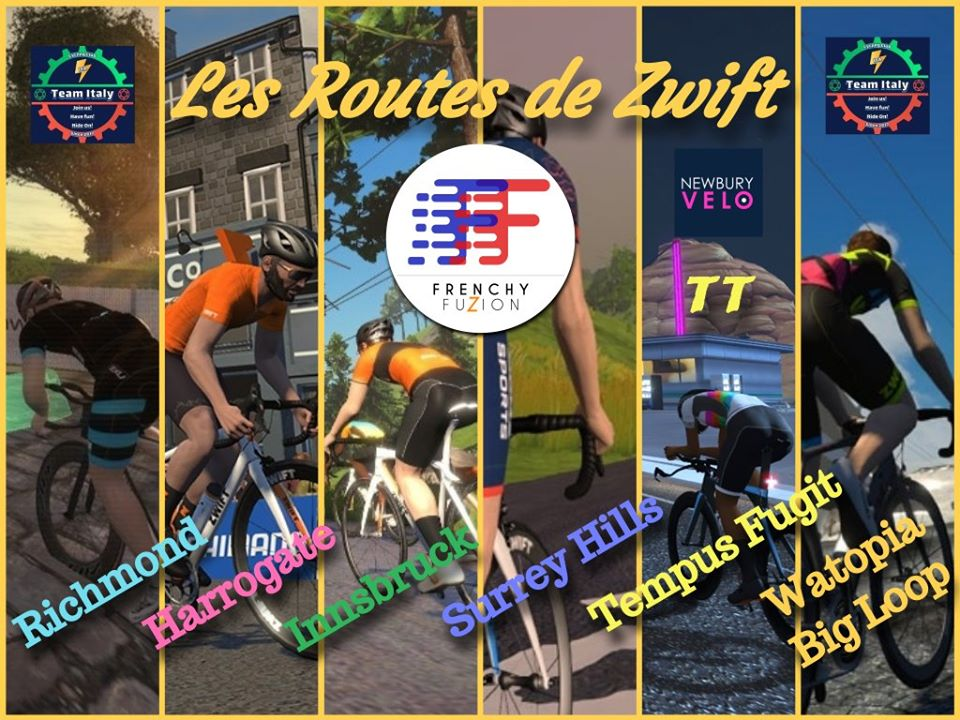 Les Routes de Zwift : Analyse de Performance