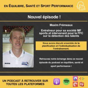 Read more about the article Podcast en équilibre, santé et sport performance