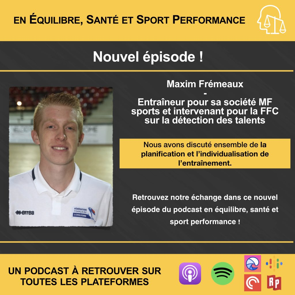 Podcast en équilibre, santé et sport performance